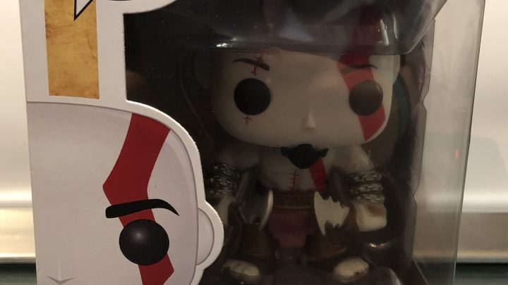 "Figurine POP ""GAMES""- Kratos #25"