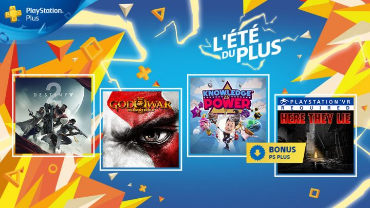 PlayStation Plus : programme de Septembre 2018 !