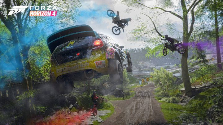 Forza Horizon 4 : Gameplay 4K (Gamescom)