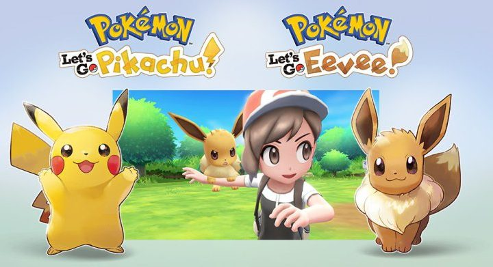 POKEMON arrive sur Nintendo Switch !