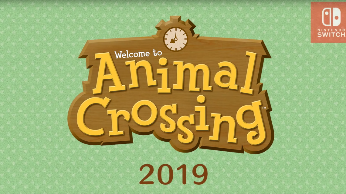 Animal Crossing pour 2019 ! (Trailer)