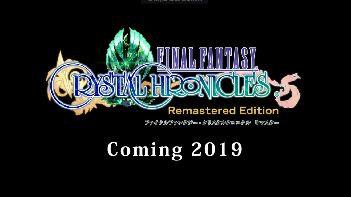 PlayStation LineUp Tour : Final Fantasy Chrystal Chronicles Remastered Edition
