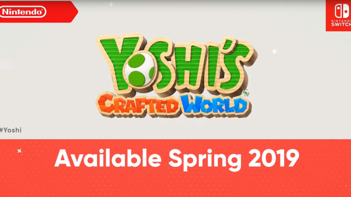 Yoshi's Crafted World : trailer & 2019 … (Nintendo Direct)