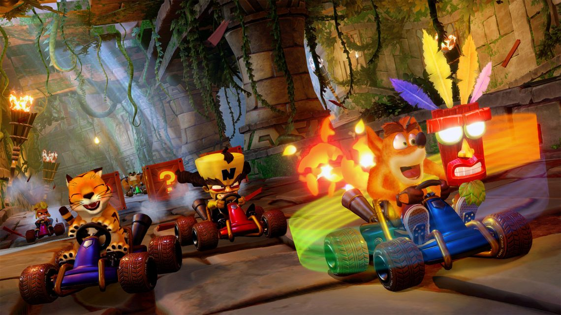 Possible report de Crash Team Racing Nitro-Fueled sur Nintendo Switch …