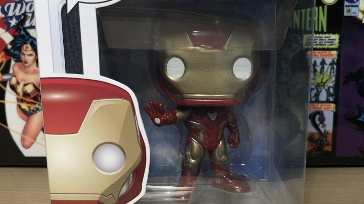 "Figurine POP ""Movies"" – Iron Man #467"