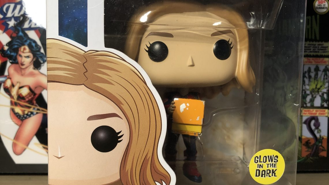 "Figurine POP ""Movies"" – Captain Marvel #444"