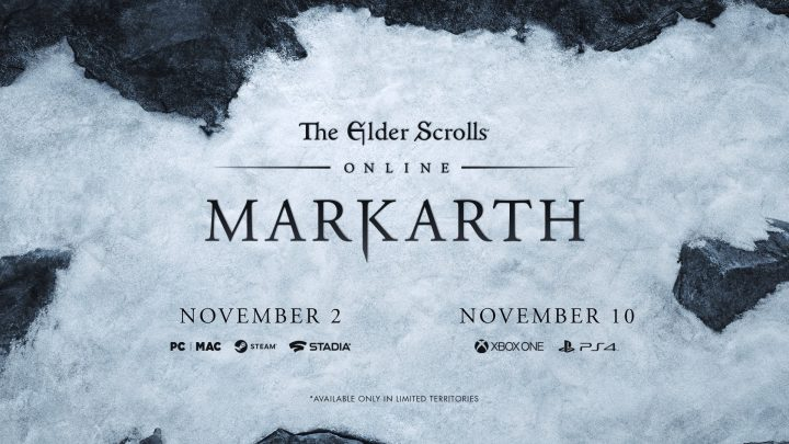 THE ELDER SCROLLS ONLINE: MARKATH est disponible sur PC/STADIA